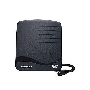Antena Interna para Tv UHF - HDTV Digital TV DTV-1000 - Aquário