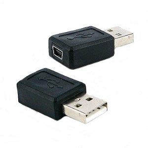 Adaptador Mine USB 5 Pinos Fêmea para USB Macho