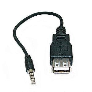 Cabo USB Fêmea X P2 Macho