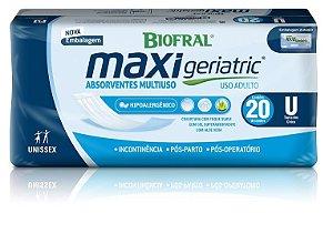 Absorvente Biofral Maxi Geriatric c/20 unidades.