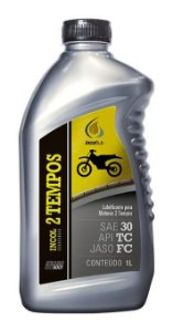Incol 2 Tempos SAE 30. API TC, JASO FC