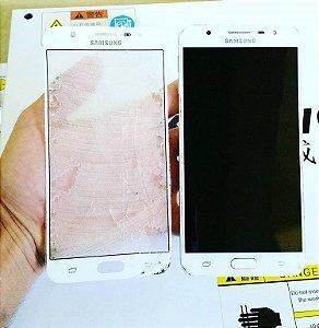 Troca de Vidro Samsung Galaxy S5 Mini G800H G800F