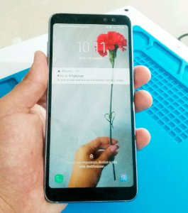 Troca de Vidro Samsung Galaxy A8 Plus A8+ A730F A730 (2018)