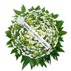 Coroa de Flores Esmeralda
