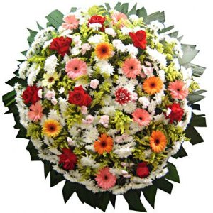 Coroa de Flores Citrino