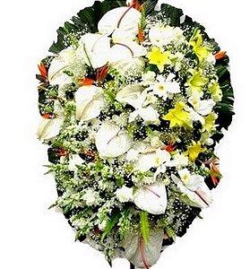 Coroa de Flores Topázio