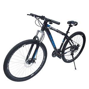 Bicicleta Aro 29 Freio À Disco Mecânico - Azul - Mostruário