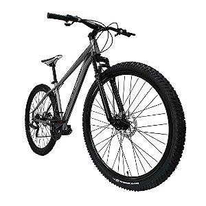 Bicicleta MTB Alfameq Soft 24 Marchas Aro 29 Quadro Alumínio Freio a Disco
