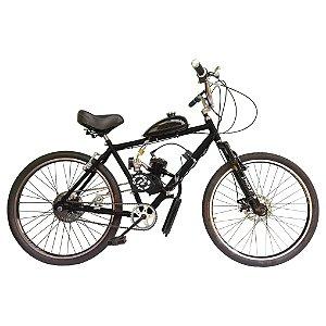 Bicicleta Motorizada Modelo Exclusivo 2 Cabeças Bikes Tipo 80cc 2T Aro 26