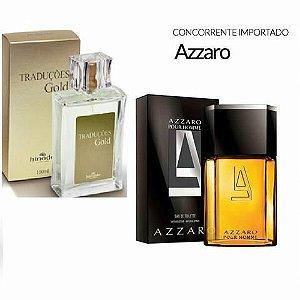 Traduções Gold nº 1 Masculino Concorrente Azzaro 100 ml