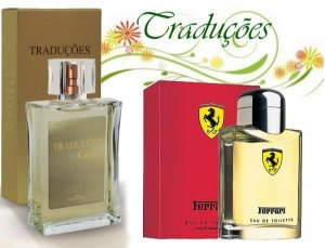 Traduções Gold n° 60 Masculino concorrente Ferrari Red 100 ml