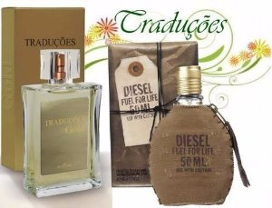 Traduções Gold n° 30 Masculino concorrente Diesel Fuel For Life 100 ml