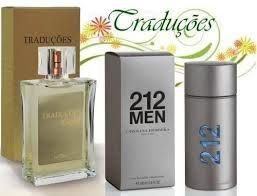 Traduções Gold nº 18 Masculino Concorrente CH 212 For Men 100 ml