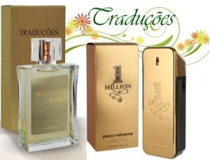 Traduções Gold Nº 19 Masculino concorrente 1 Million 100 ml