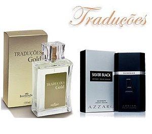 Traduções Gold Nº 47 Masculino concorrente Azzaro Silver Black 100 ml
