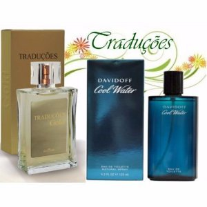 Traduções Gold Nº 42 Masculino concorrente Cool Water 100 ml