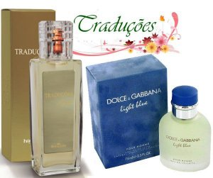 Traduções Gold Nº 64 Feminino concorrente DG Light Blue 100 ml