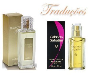 Traduções Gold Nº 9 Feminina concorrente Gabriela Sabatini 100 ml