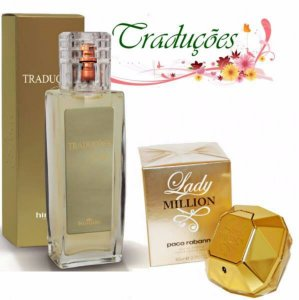 Traduções Gold Nº 14 Feminino concorrente Lady Million 100 ml