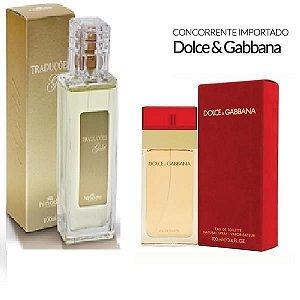 Traduções Gold Nº 8 Feminina concorrente Dolce Gabbana 100 ml