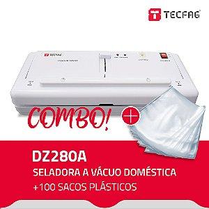 Seladora a Vácuo DZ280A + 100 Sacos Plásticos