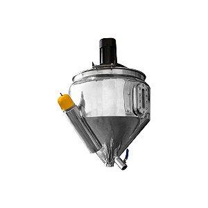 Funil com Mixer e Aquecimento para Envasadora - DGF