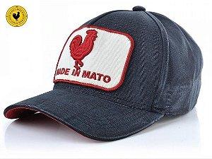 Boné Made In Mato Original Rooster - Preto Estonado