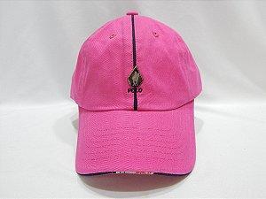Boné Polo Original, cor rosa