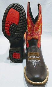 Bota Texana Pé de Ferro