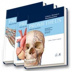 Coleção Prometheus - Atlas de Anatomia - 3 Volumes