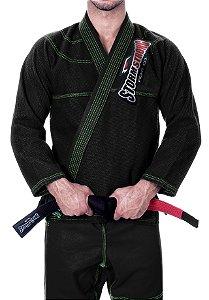 Kimono STORMSTRONG Jiu-Jitsu Neon Preto