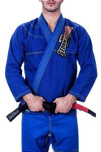 Kimono STORMSTRONG Jiu-Jitsu Neon Azul Royal