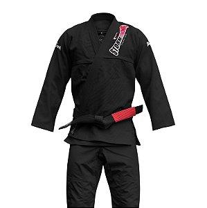 Kimono STORMSTRONG Jiu-Jitsu Super Pro Preto
