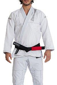 Kimono STORMSTRONG Jiu-Jitsu Super Pro Silver Branco