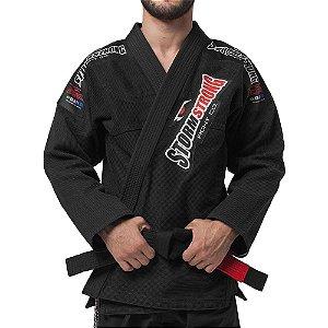 Kimono STORMSTRONG Jiu-Jitsu Pro Preto