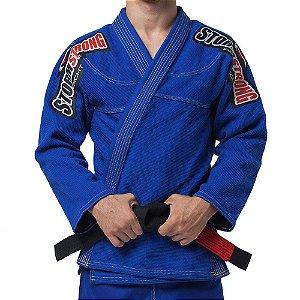 Kimono STORMSTRONG Jiu-Jitsu Série Limitada Azul Royal