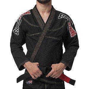 Kimono STORMSTRONG Jiu-Jitsu Série Limitada Preto