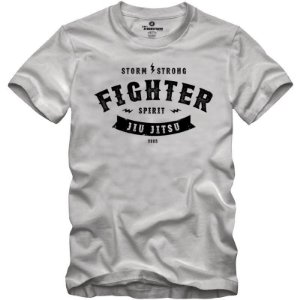 Camiseta Fighter Spirit Branca