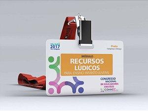 RECURSOS LÚDICOS para o Ensino Infanto-Juvenil - VILA VELHA 2017 - PRATA