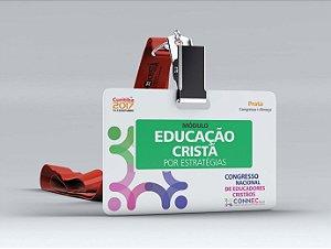 EDUCAÇÃO CRISTÃ POR ESTRATÉGIAS - CURITIBA 2017 - PRATA