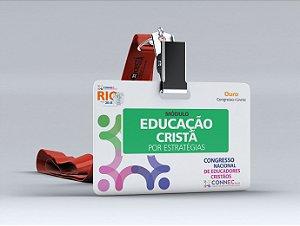 EDUCAÇÃO CRISTÃ POR ESTRATÉGIAS - RIO 2018 - OURO