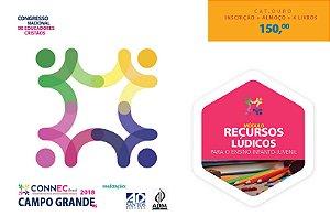 RECURSOS LÚDICOS para o Ensino Infanto-Juvenil - CAMPO GRANDE 2018 - OURO