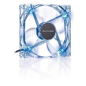 Cooler Fan 12x12 Cm C/ Led Azul Multilaser