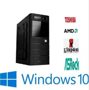 Computador Amd A4 6300 - 4gb De Ram - 500GB de HD