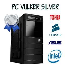 PC VULKER SILVER - INTEL PENTIUM DUAL - 4GB DE RAM - HD DE 500GB