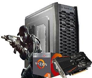 COMPUTADOR GAMER AMD RYZEN 3 2200G- 8GB DDR4- HD 1TB- GPU GTX 1050 TI