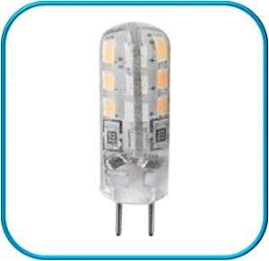 Lampada Bipino LED G4 2W 220V - Branco Quente