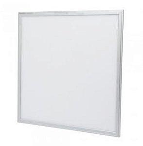 Painel Plafon Embutir 36W 600x600mm - Branco Quente