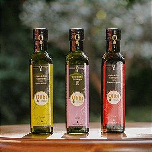 Kit de Azeites Aromatizados Olibi (250ml cada)