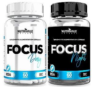 Kit Focus Dia e Noite - Concentração e Memória